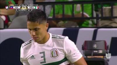 Tiro desviado de Carlos Salcedo