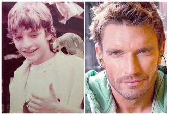 Julián Gil compartió una foto de su niñez, mira su transformación