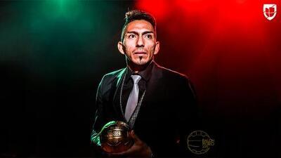 Ángel Mena: ganador del Balón de Oro al Mejor Medio Ofensivo