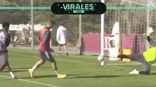 ¡La joyita de Odegaard con el Real Madrid!