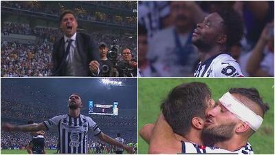 ¡Emociones del Campeón! Silbatazo final y Monterrey inició su celebración