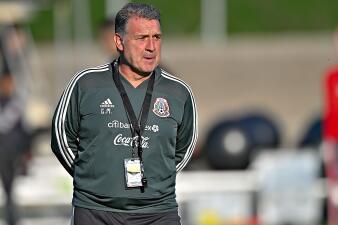 Así se vivió el primer entrenamiento de la Selección Mexicana en California