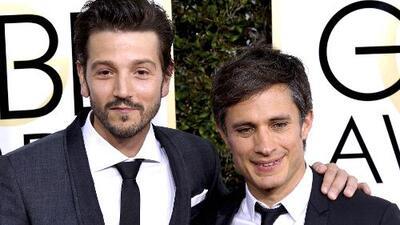 Gael García y Diego Luna pusieron en alto el orgullo hispano en los Golden Globes