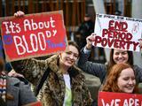 Escocia es la primera región del mundo en proporcionar gratis productos para la menstruación