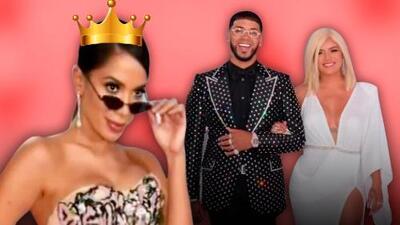 Una pareja dispareja y una reina: los mejor y peor vestidos de premios Billboard de la Música Latina 2019