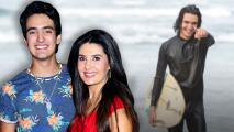 El hijo de Mayrín Villanueva está lejos de su novia, pero ya tiene quien le deje corazones (y es una actriz)