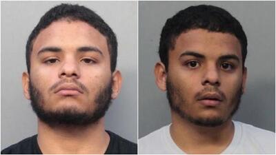 Acusan a dos hermanos gemelos de una violenta agresión con bates en una gasolinera de Hialeah
