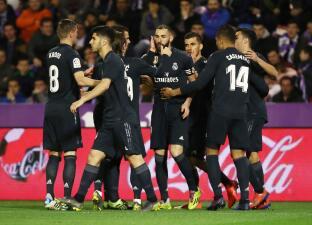 En fotos: Real Madrid respira en medio de su crisis y golea al Valladolid