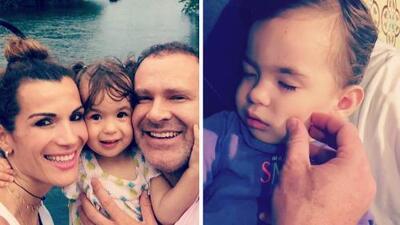 Exclusiva: Alan compartió un tierno momento con su hija Michelle luego de no verla por 12 días