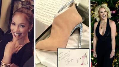 JLo le regala sus fabulosas botas a Britney Spears... ¿sabes cuánto cuestan?