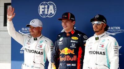 Max Verstappen logra su primera pole position en Hungría
