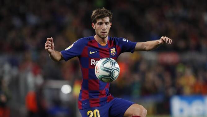 Sergi Roberto se vuelve a lesionar lesión y sería baja el resto de la temporada