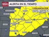 Emiten vigilancia por tornado para áreas del centro de Texas
