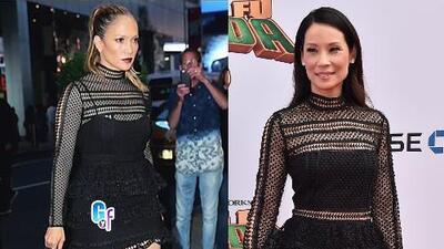 ¿Quién está mejor vestida: Lucy Liu o Jennifer López?