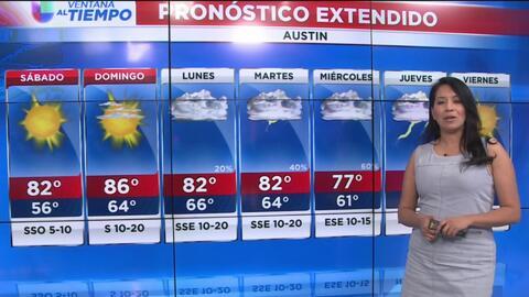 Austin tendrá un fin de semana soleado