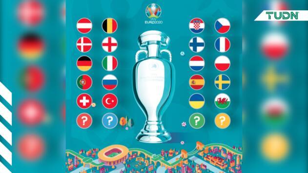 Así quedaron los bombos para el sorteo de la Eurocopa 2020