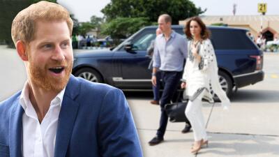 El príncipe Harry niega que esté en guerra con su hermano William, aunque admite que casi no lo ve