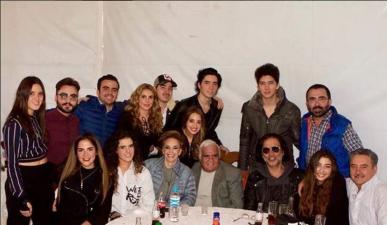Así fue la fiesta de cumpleaños de Vicente Fernández