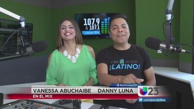 """""""En El Mix"""" con Danny Luna y Vanessa Abuchaibe - Lunes 8/1/16"""