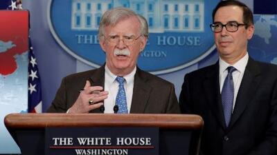 Estados Unidos anuncia más sanciones para el gobierno de Venezuela en medio de la crisis