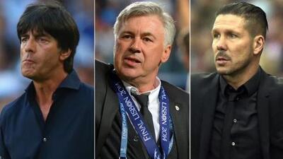 Ancelotti, Löw y Simeone, candidatos al mejor entrenador de 2014