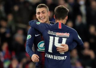 En fotos: PSG dio el primer paso para soñar con la Final de la Copa de Francia
