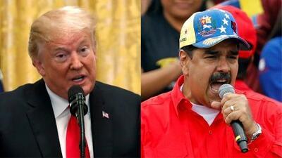 Trump asegura que rechazó una propuesta de Nicolás Maduro para reunirse