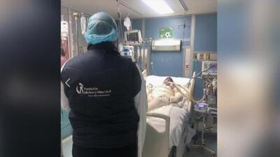 Otro niño víctima de la explosión de un ducto de gasolina en México es trasladado a un hospital en Galveston