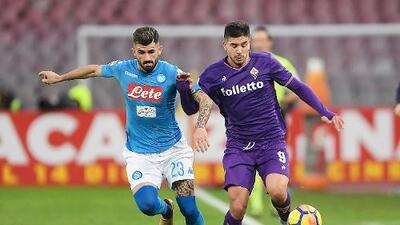 Nápoles empata con Fiorentina y cede el liderato al Inter