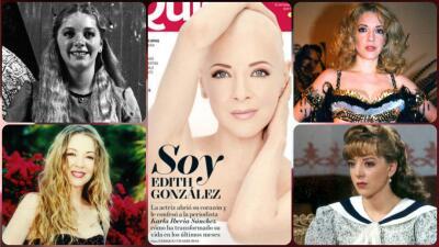 Edith González, de estrella infantil a diva de telenovelas: en fotos, repasamos su trayectoria