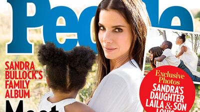Sandra Bullock adoptó a una niña llamada Laila