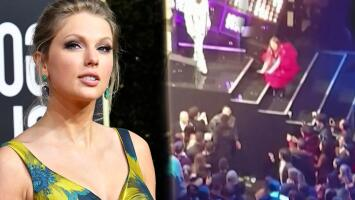 Un rapero le roba el show a Taylor Swift en Londres (y no fue Kanye West)