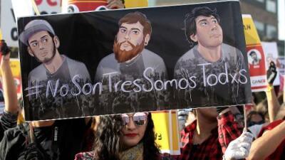 Detienen a otro sospechoso de la muerte de tres estudiantes de cine secuestrados y disueltos en ácido en México