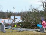 De Texas a las Carolinas: el sur de EEUU se prepara para un fin de semana de posibles tormentas, tornados e inundaciones