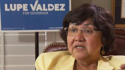 Educación pública y control de armas, las prioridades de Lupe Valdez en su aspiración a la gobernación de Texas