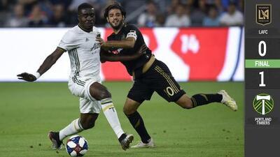 Timbers eliminó al LAFC de Carlos Vela de la US Open Cup con gol agónico