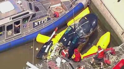 Estos son los otros accidentes de helicópteros que han estremecido a Nueva York en los últimos 10 años