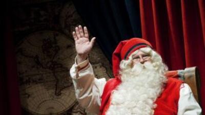 Estados Unidos autorizó a Santa Claus a sobrevolar su espacio aéreo nacional