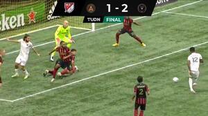 Rodolfo Pizarro sale lesionado en el triunfo del Inter Miami ante Atlanta