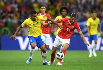 En fotos: Brasil debuta en el Mundial con amargo empate 1-1 ante Suiza