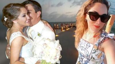 A tres años de su divorcio, Sherlyn revive la boda con Gerardo Islas al caminar por el muelle donde dio el 'sí'