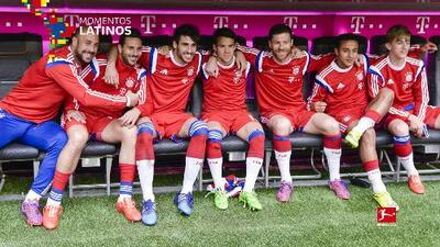 """9cd397d524 El banquillo del Bayern Munich donde """"solo"""" se habló español ..."""