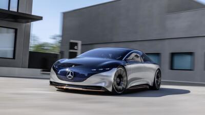 Frankfurt 2019: El Vision EQS es un vistazo al futuro eléctrico de Mercedes-Benz