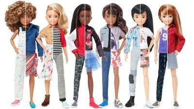Mattel launches gender inclusive doll line