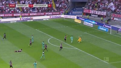 Polémico fuera de lugar le quita el empate al Hoffenheim sobre la hora