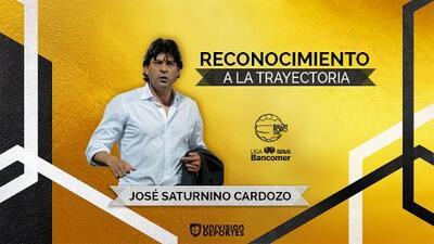 José Cardozo: ganador del Balón de Oro como Reconocimiento a la Trayectoria
