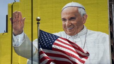 Papa Francisco en el Madison Square Garden