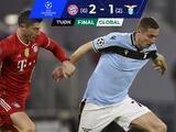 Bayern Múnich completa la obra y despacha a la Lazio de la Champions League