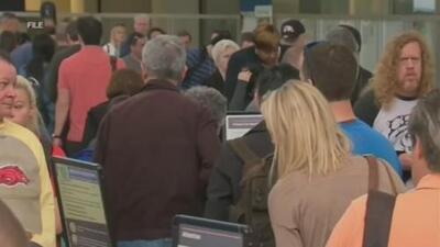 Anuncian que el Aeropuerto Internacional de Fort Lauderdale estará cerrado este lunes por vientos de Dorian