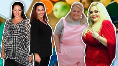 Estos famosos bajaron drásticamente de peso y ahora lucen irreconocibles
